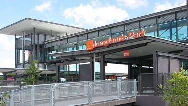 Langlands Park, one of the new bus stations opened this morning.