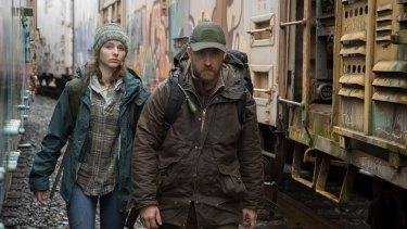 Tom (Thomasin McKenzie) and Will (Ben Foster) in Debra Granikâ€'s drama Leave No Trace.