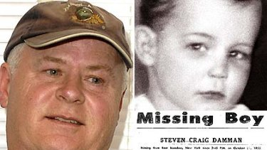 John Barnes, left, claims he is Steven Damman, who went missing in 1955.
