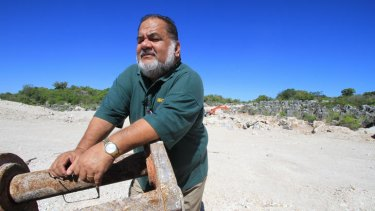 Phosphate mine worker Vinci Clodumar. When Nauru's phosphate industry collapsed, the nation's fortunes went with it.