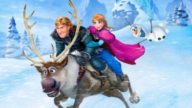 Author Isabella Tanikumi fancies herself as a leading lady in Disney's <i>Frozen</i>.