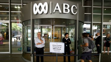 'I fully expect the News Corp blitzkrieg against the ABC to continue unabated.'
