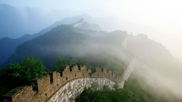 The Great Wall of China couldn't keep out the Mongol hordes.