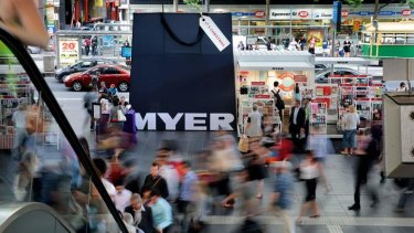 Myer and David Jones are lowering prices on global brands to remain competitive with online rivals.