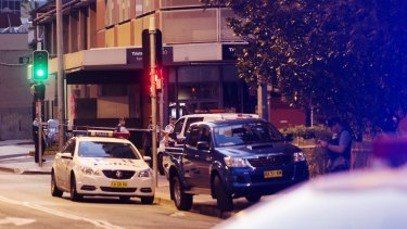 A police employee was shot dead outside the headquarters in Parramatta.