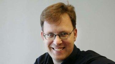 Author Garth Nix.