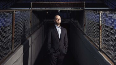 Todd Greenberg in the players' tunnel at Belmore Sports Ground.