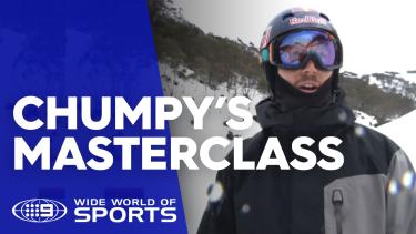 World champion snowboarder and Olympian Alex 'Chumpy' Pullin gives Wide World of Sports a masterclass.
