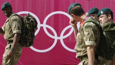 British media reported that an extra 3500 military personnel may be needed, just two weeks before the London Games open on July 27.