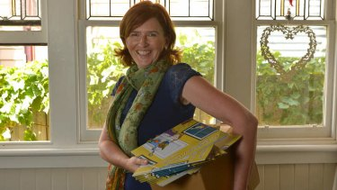 Cleaning up: Tania Reid has written a children's book on hoarding disorder.