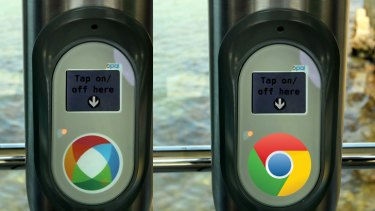 Mirror image ... what if Google ran the NSW transport system?