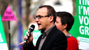 Adam Bandt claimed an historic victory in the seat of Melbourne.