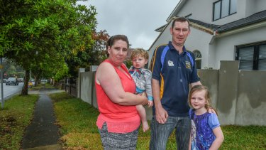 Hollie Adamson says many neighbours don't know about the Parramatta Road development plans.