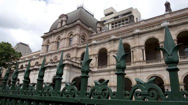 A report detailing $1 million of security vulnerabilities at Queensland's Parliament House has been kept quiet.
