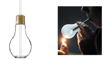 Kmart's product is distinctly similar to meth-smoking device.