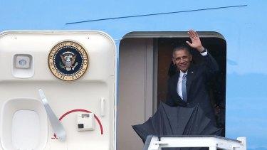 Then US President Barack Obama arrives in Havana in 2016 for a historic visit.