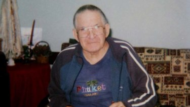 Bill Stuttle snr ... was rescued but died later in hospital.