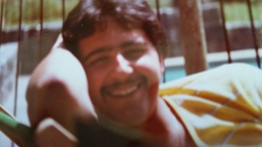 Anthony Virgona shortly after he was married in late 1981.