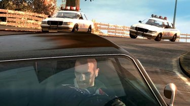 <em>Grand Theft Auto IV</em> ... gameplay involves stealing cars and committing other violent crimes.