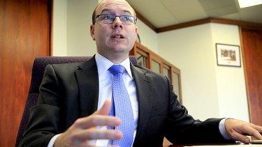 New deputy premier Andrew Fraser.