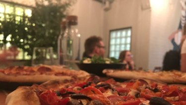 Comet pizza stands out in the burgeoning Northbridge scene.