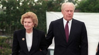 Betty and Gerald Ford in 1994.