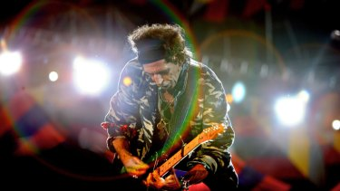 The Rolling Stones guitarist Keith Richards has enjoyed a long career making music.