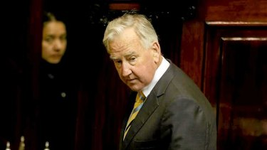 Ken Smith resigns as Speaker.