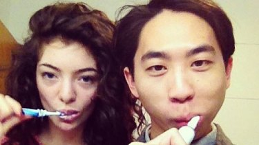 NZ singer Lorde, with boyfriend James.
