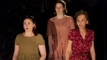 Shari Sebbens, Airlie Dodds and Paula Arundell are spellbinding in <i>The Bleeding Tree</i>.