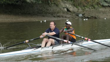 Rupert Guinness puts in the hard slog with Niger rower Hamadou Djibo Issaka in an attempt to prove that not all sports journalists are paunchy, lazy coodabeens.