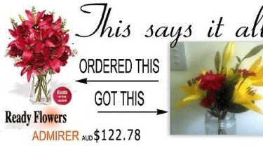 A Ready Flowers complaint.