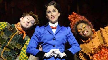 Verity Hunt-Ballard as Mary Poppins at last Wednesday's dress rehearsal.