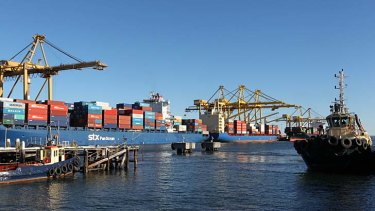 Change in the air: The annual container movement cap will be abolished at Port Botany.