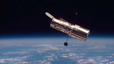 The Hubble Space Telescope: The planet's eye into the distant wonders of the universe.