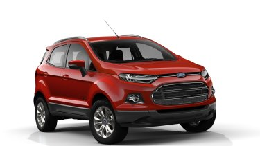 The 2012 Ford EcoSport was affected by the PowerShift Transmission fault.
