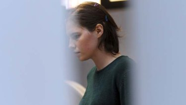 Amanda Knox ... determined to prove her innocence