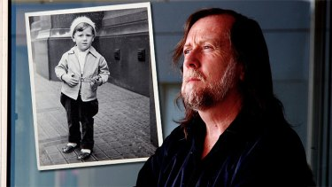 Secrets and lives ... Colin Dagwell hopes the apology will help him find his birth parents.