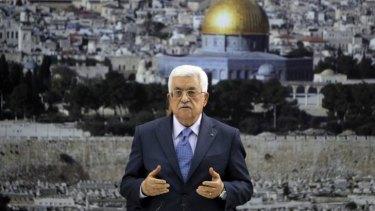 Palestinian Authority President Mahmoud Abbas on Tuesday in Ramallah.