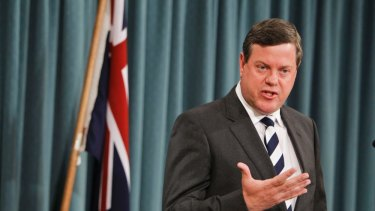 Treasurer Tim Nicholls says the Strong Choices campaign had performed its job.