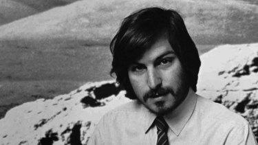 Steve Jobs in 1977.