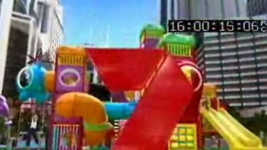 Look familiar? ... The ad was set in a McDonald's playground.