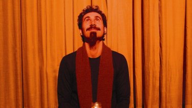 Time to iron your favourite black T-shirt ... Serj Tankian will be at Soundwave.