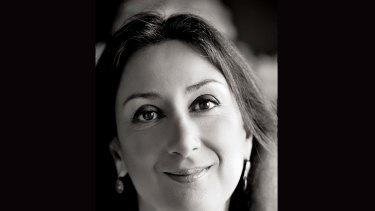 Daphne Caruana Galizia, a Maltese investigative journalist.