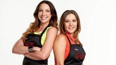 <i>My Kitchen Rules'</i> Perth contestants Chloe James and Kelly Ramsay.