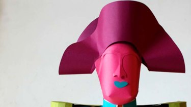 Napoleon dynamite … Harney puts a kooky new twist on museum-style busts.