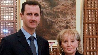Interview ... Bashar al-Assad spoke to Barbara Walters.
