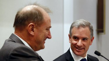 """CBH says Brookfield Infrastructure, led by chief executive Sam Pollock (right) is """"ruthlessly driven""""."""