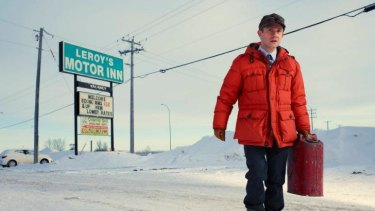 Character: Martin Freeman as Lester Nygaard in the TV series <i>Fargo</i>.