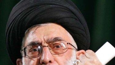 Ayatollah Ali Khamenei .. says music should not be taught in Iran.